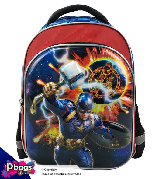 """Morral 13"""" Backpack Avengers Relieve"""