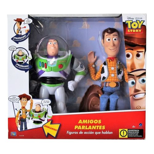 Toy Story Woody & Buzz Amigos Parlantes